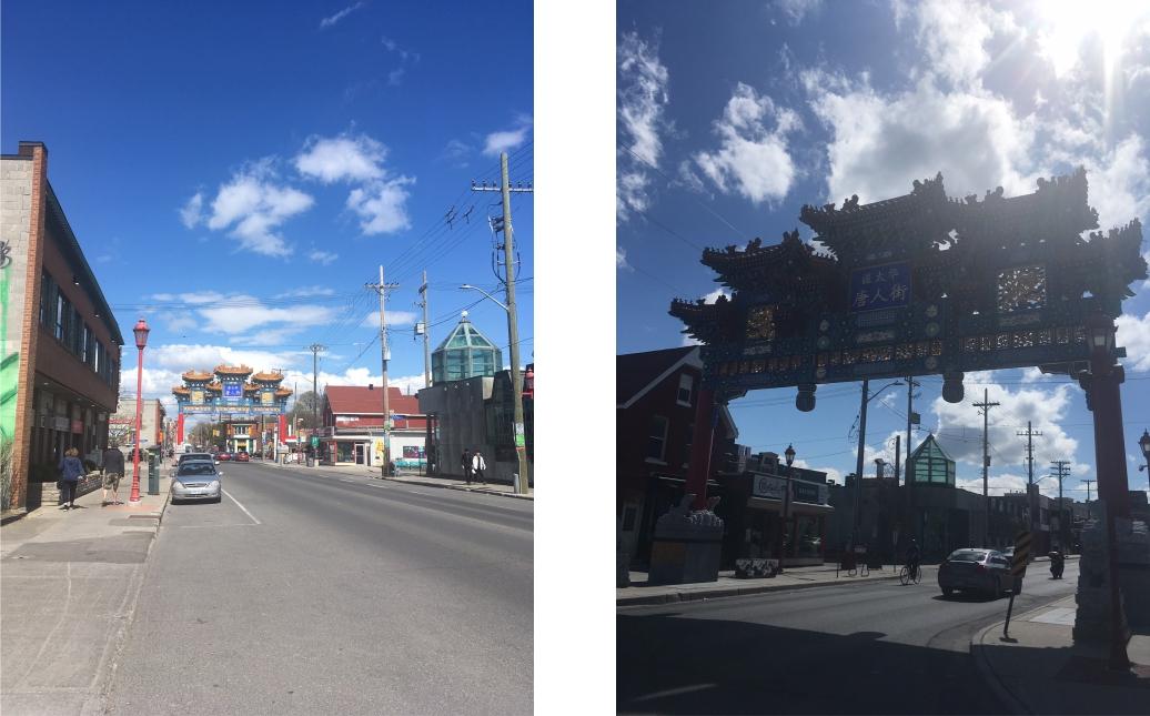 Chinatown in Ottawa